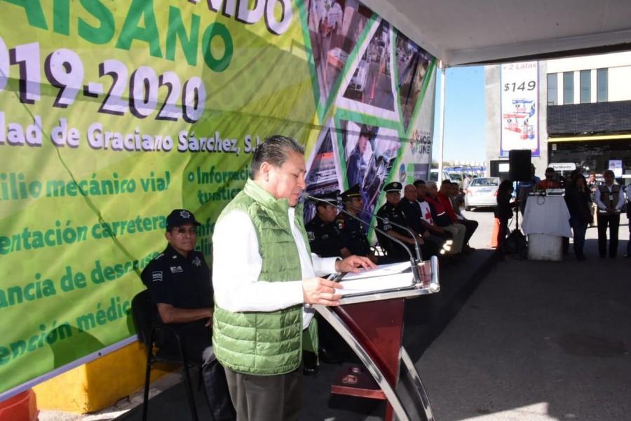 Municipio Soledad de Graciano Sánchez, comienza operativo ?Bienvenido Paisano?