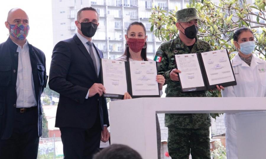 GobCDMX y Cuajimalpa, celebran construcción de hospital