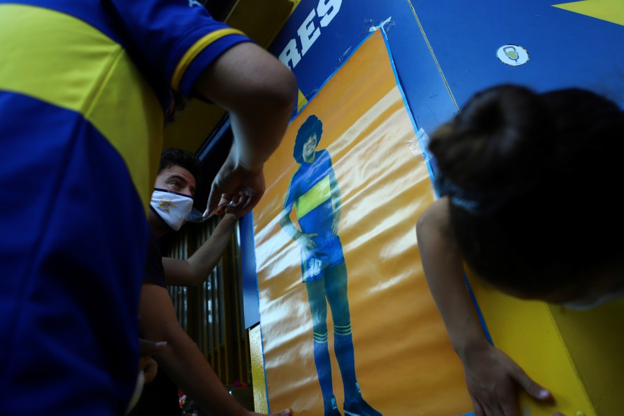 Argentina llora la muerte de Maradona