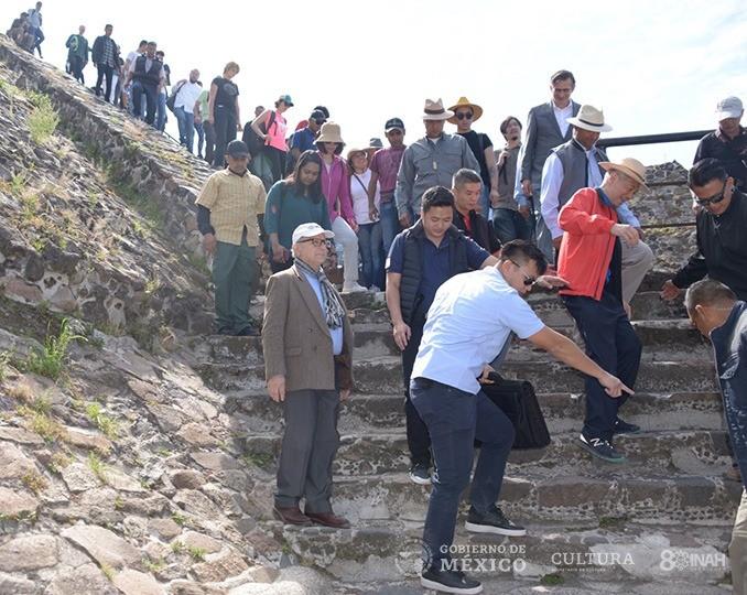 Primer Ministro de Singapur visita Teotihuacan