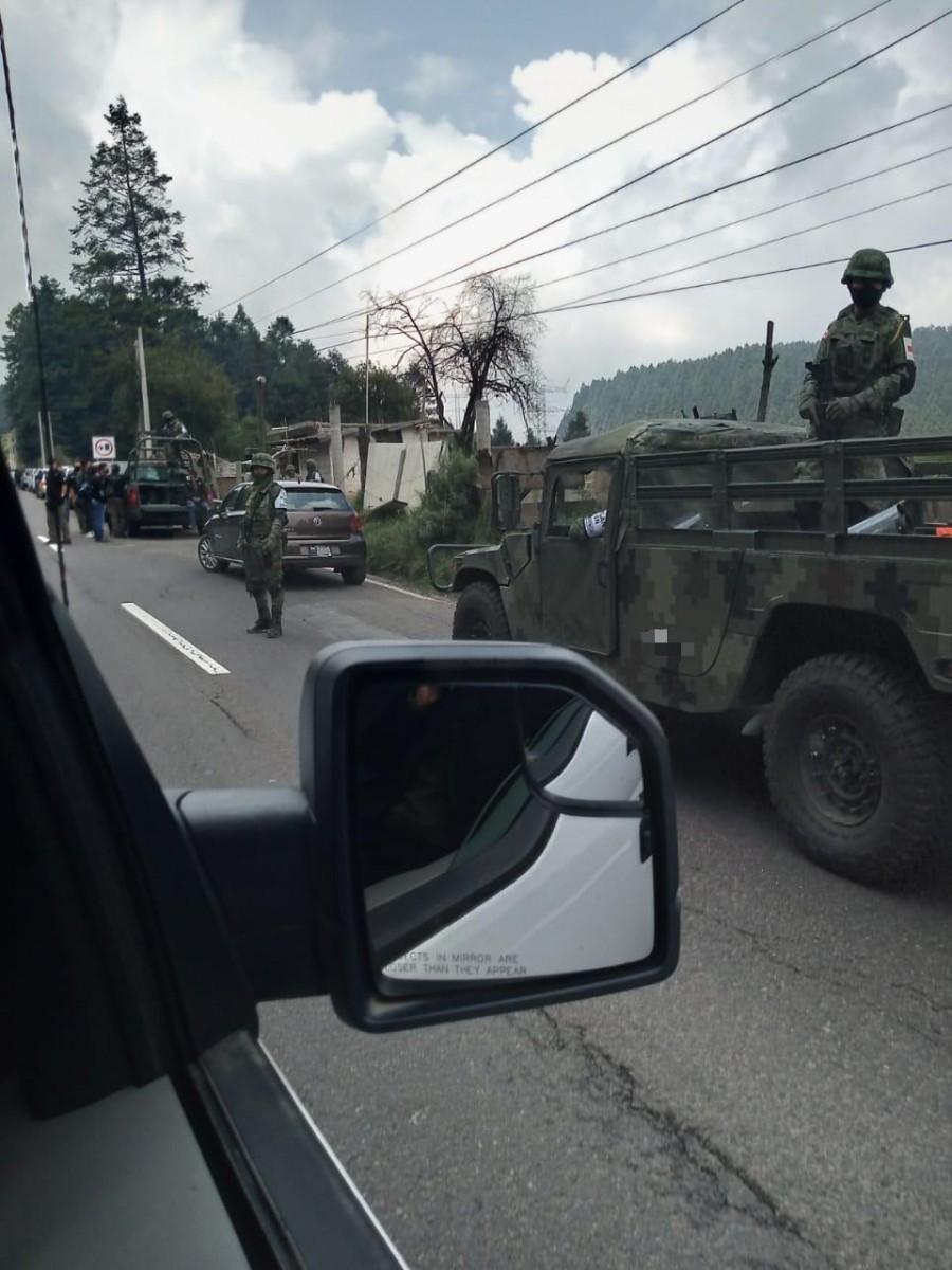 Profepa y Guardia Nacional en alcaldía Cuajimalpa