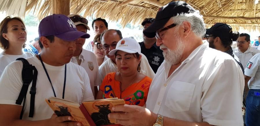 SEGOB supervisa albergues de migrantes en Chiapas