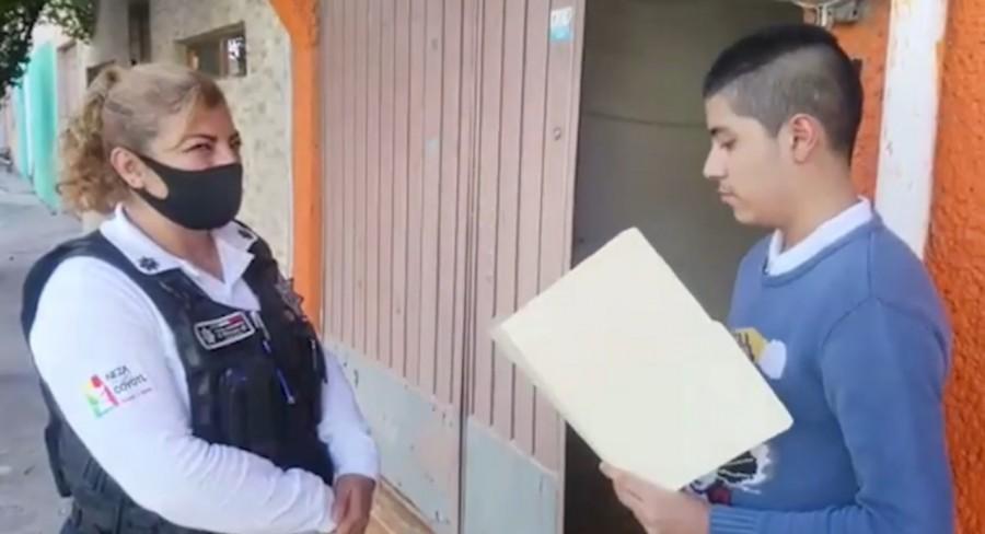 Policías serán promotores de lectura en Neza