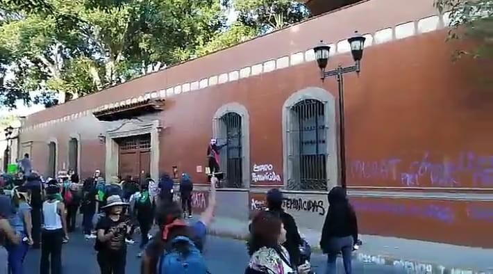 Marcha por Ingrid en Oaxaca