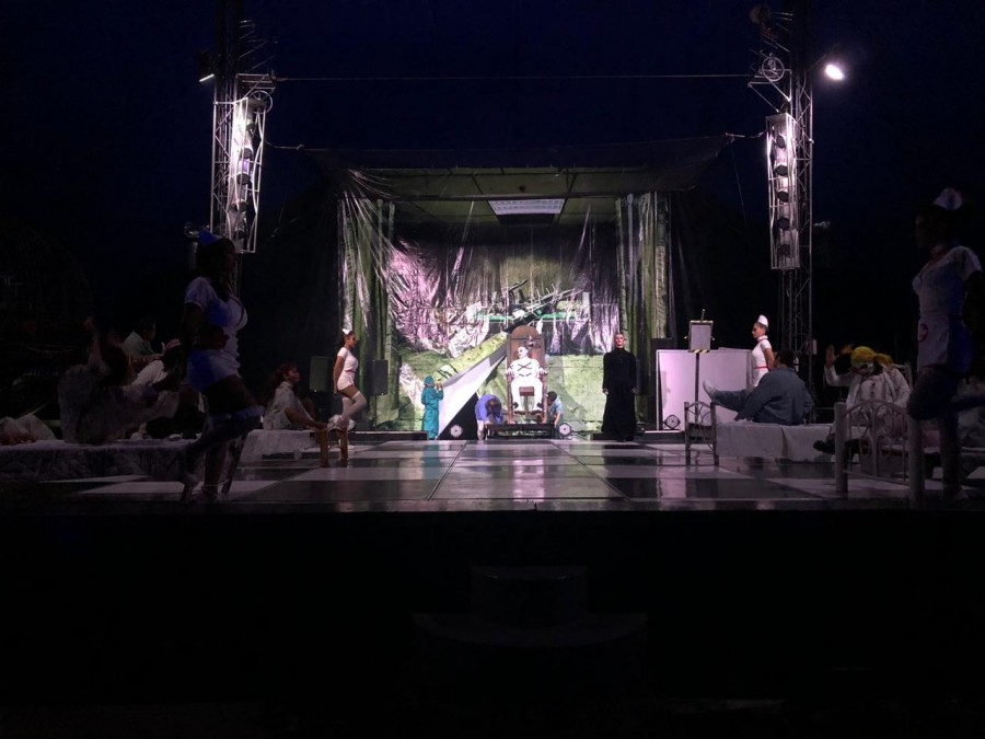 Alcaldía Cuajimalpa mantiene espectáculo y operativo con motivo de Día de Muertos