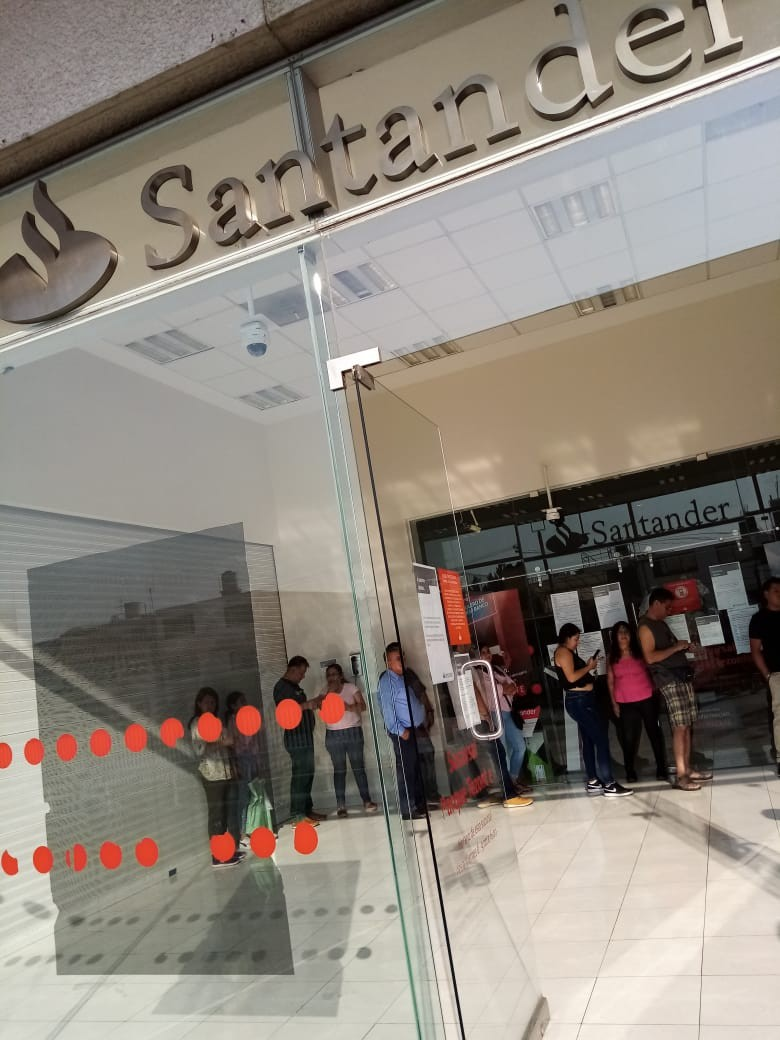 Galeria: A medio andar, la ciudadanía está desconcertada en Jornada de Sana Distancia