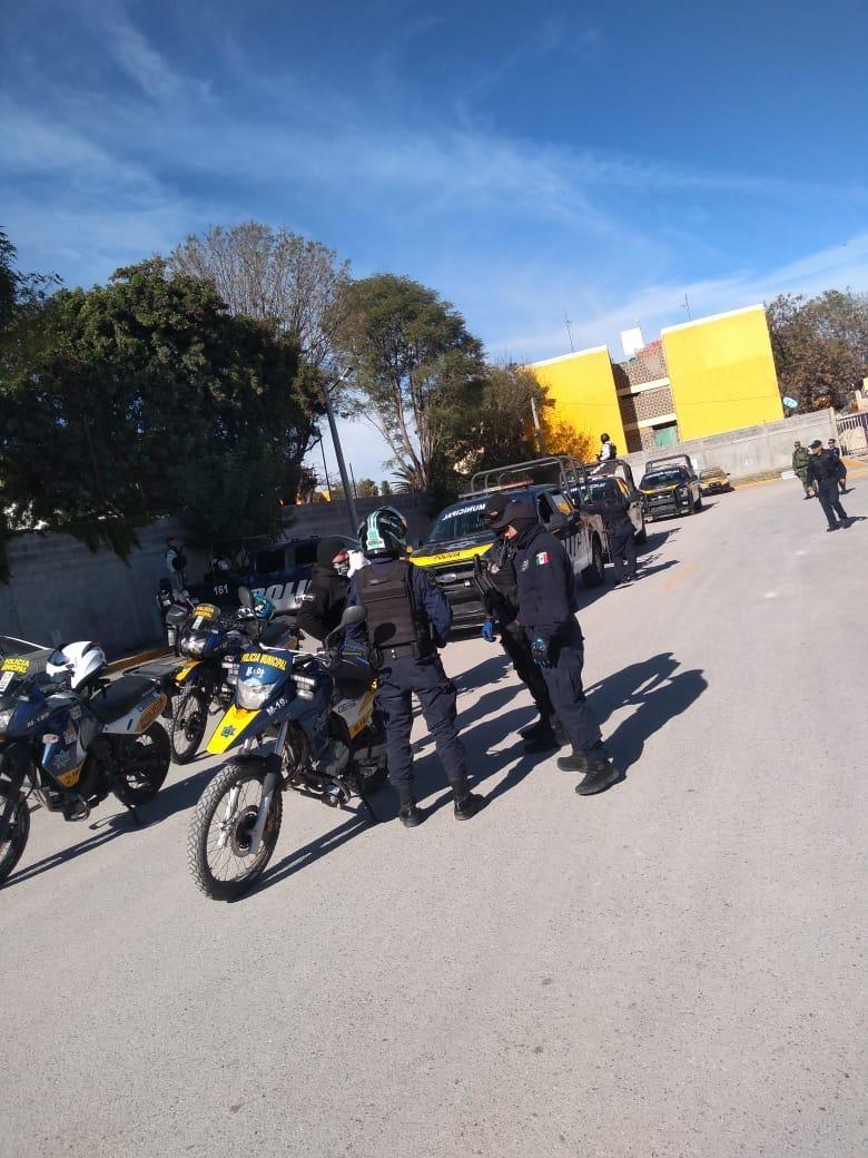 Seguridad Pública de Soledad indica saldo blanco en operativo navideño