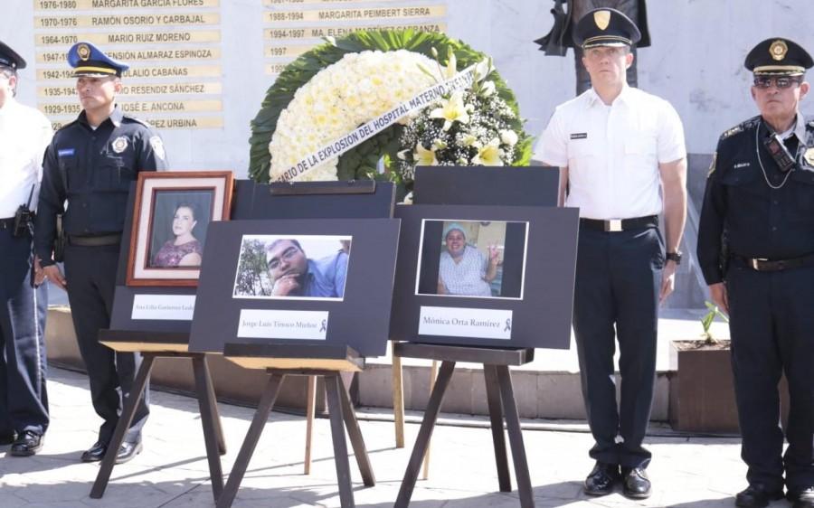 Realizan ceremonia luctuosa para conmemorar explosión de Hospital Materno Infantil en Cuajimalpa