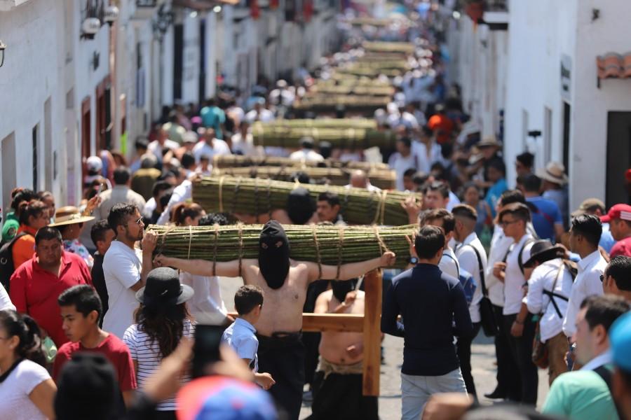 Viacrucis en México