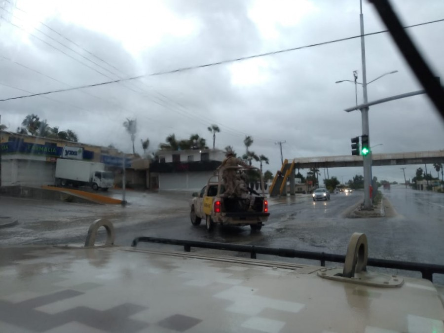 Aplican Plan DN-III-E por paso de la tormenta tropical ?Lorena?