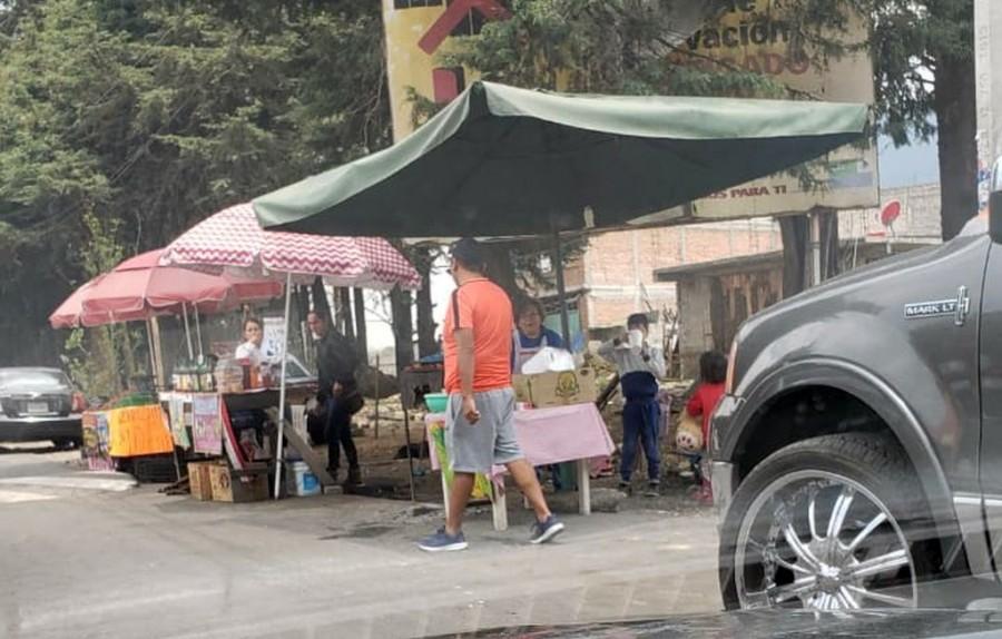 Denuncian comerciantes corrupción de funcionarios de la Alcaldía Tlalpan