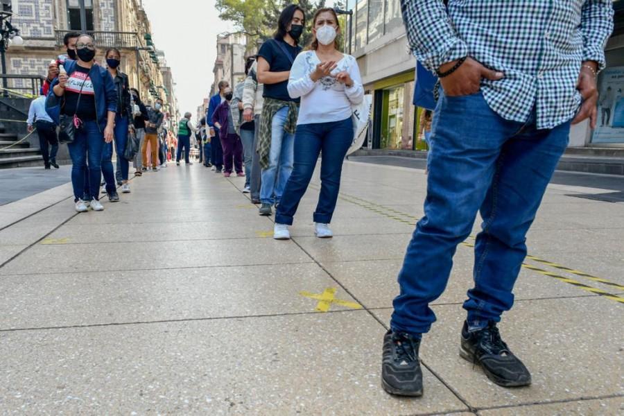 Gobierno de la CDMX fortalece filtros sanitarios en el Centro Histórico