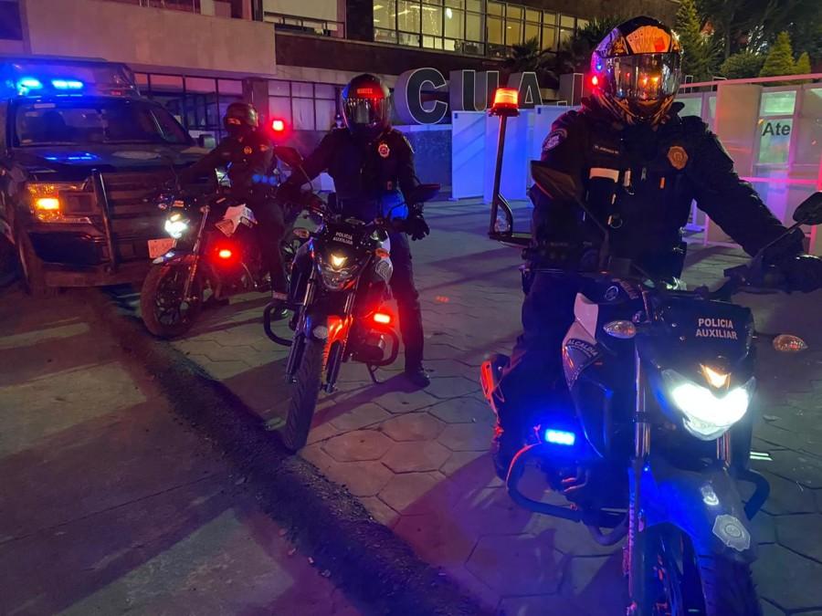 Operativo Nocturno por COVID-19 en Cuajimalpa