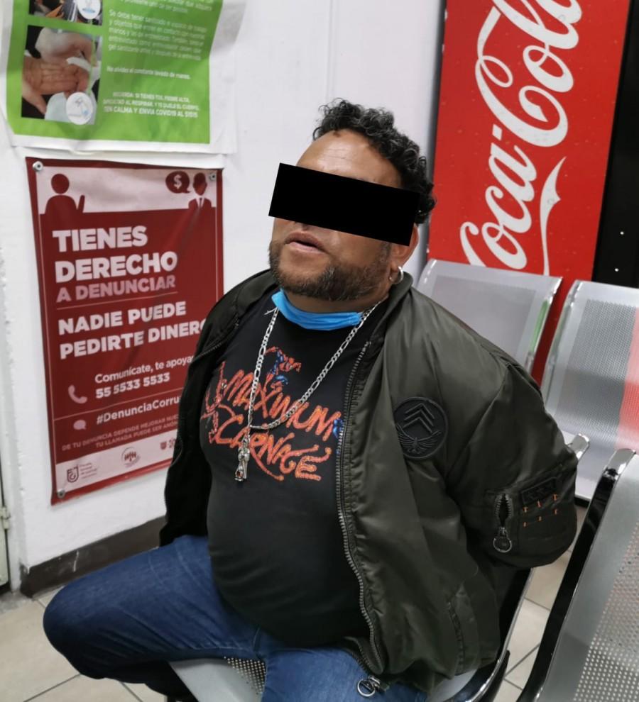 Detienen a tres por narcomenudeo en Cuajimalpa