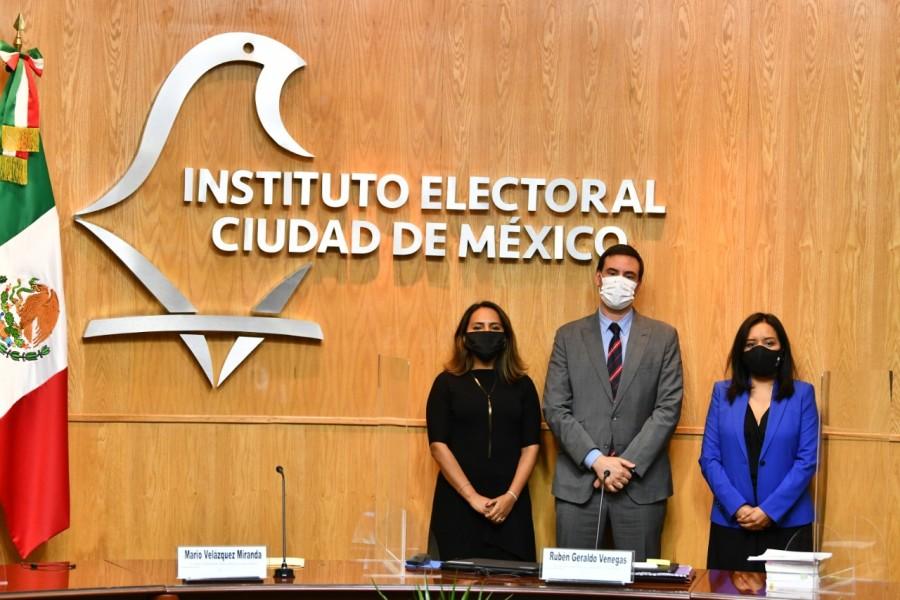 Hay nuevos integrantes del Consejo General del IECM, ya rindieron protesta