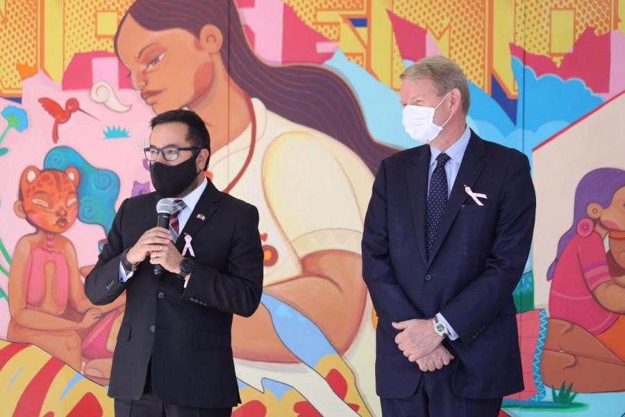 Alcaldía MH y Embajada de Canadá rinden homenaje a médicos