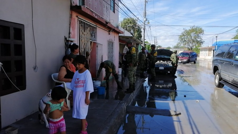 Aplican Plan DN-III en Reynosa, Tamaulipas