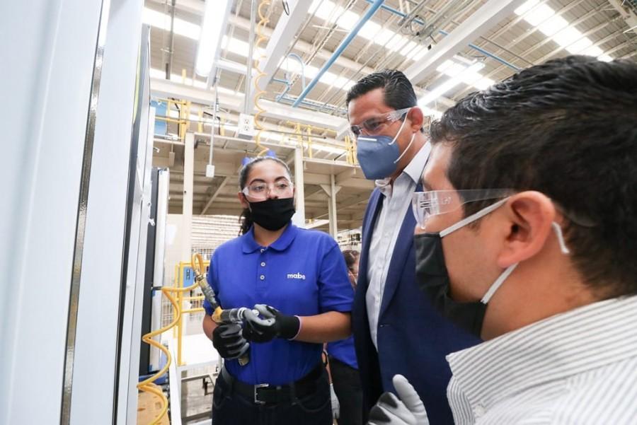 Guanajuato atrae inversiones por 2 mil 350 mdd y genera más de 26 mil empleos
