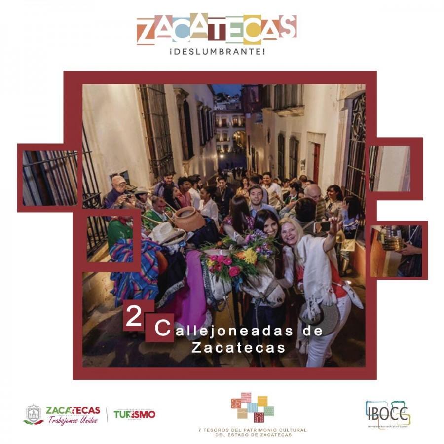 7 Tesoros del Patrimonio Cultural del Estado de Zacatecas