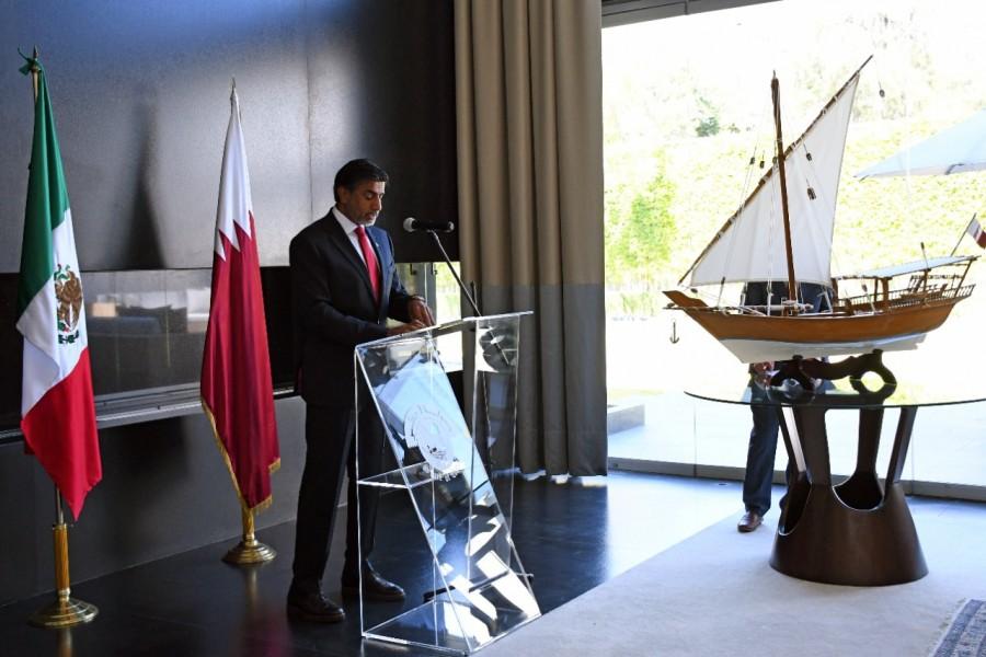 Dona Estado de Qatar a Neza material