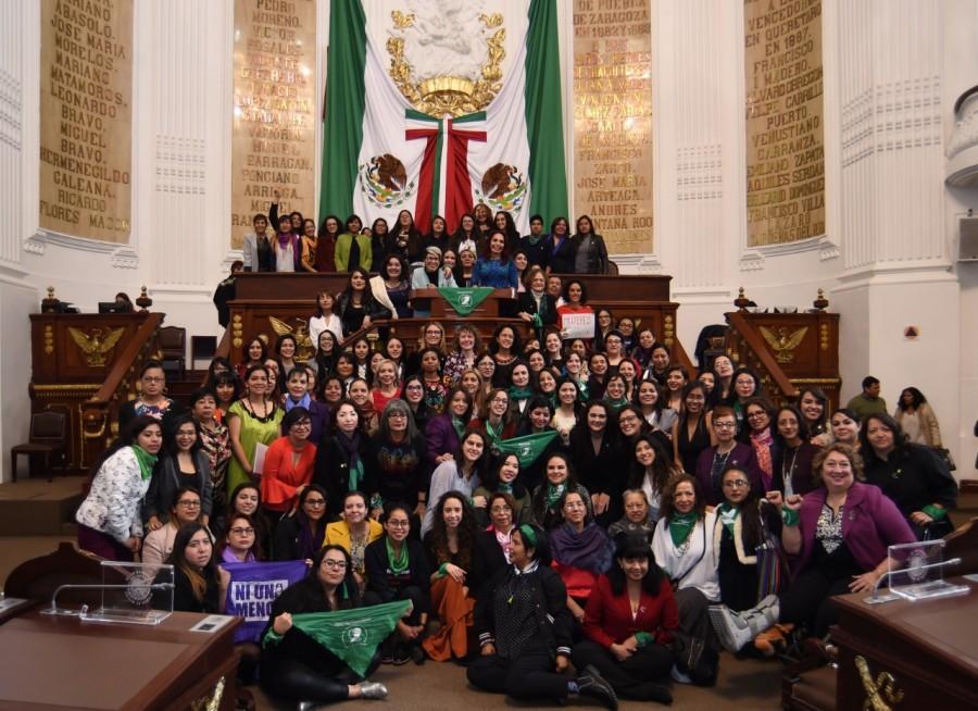 Instalan Primer Parlamento de Mujeres de la Ciudad de México 2019 (Galería)
