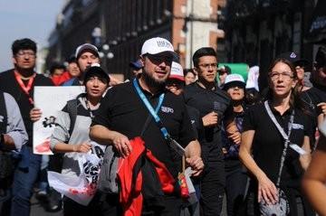 Rectores marcharon en Puebla; refrendan apoyo y solidaridad con universitarios