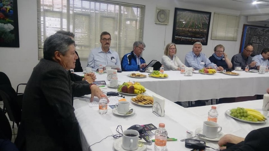 Delegación alemana, visita proyectos de modernización de Central de Abasto (Galería)