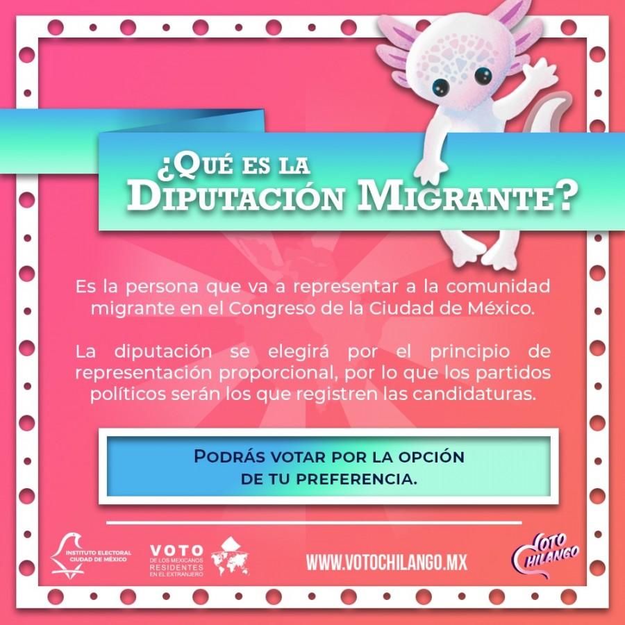 IECM: Diputación Migrante