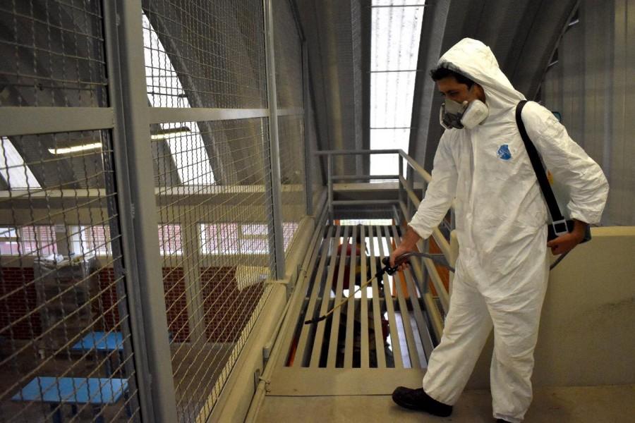 Sanitización Centros Penitenciarios