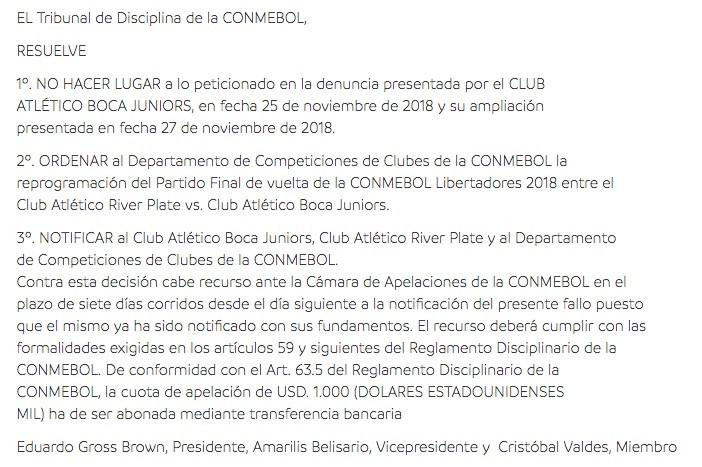 Oficial: Estadio Santiago Bernabéu será la sede del River vs Boca
