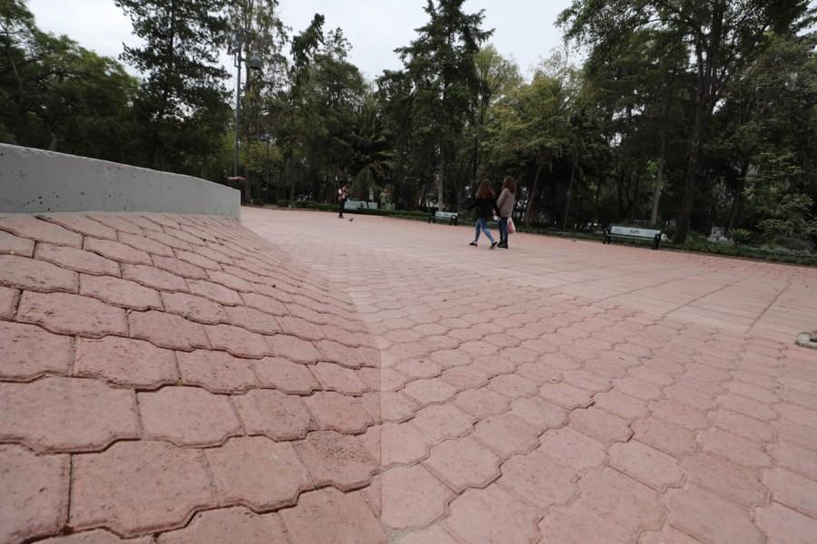 Alcaldía Miguel Hidalgo recupera y entrega parque América en Polanco