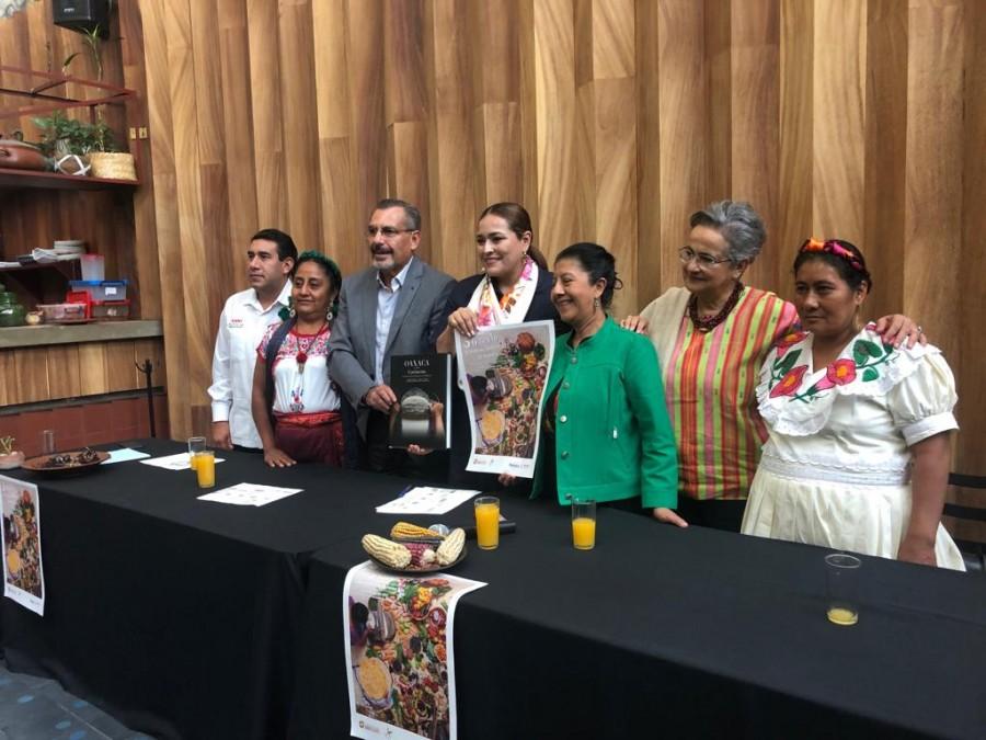 Anuncian mes de ?Oaxaca de mis sabores? en la CDMX