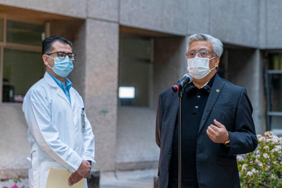 Hospital Juárez de México rinde homenaje a las víctimas del terremoto de 1985