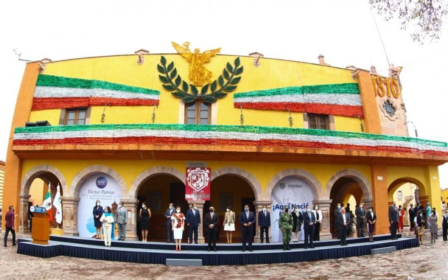 Guanajuato inicia festejos del 210 Aniversario de la Independencia