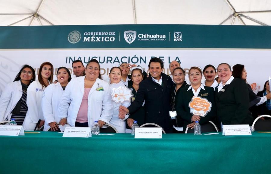 Es inaugurada unidad del IMSS No. 70 en Ciudad Juárez