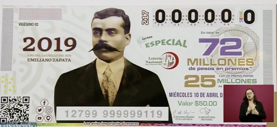 Conmemoración de los 100 años de Emiliano Zapata