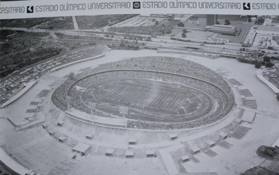 Arquitectura mexicana plasmada en la exposición ?Instalaciones Olímpicas México 68?
