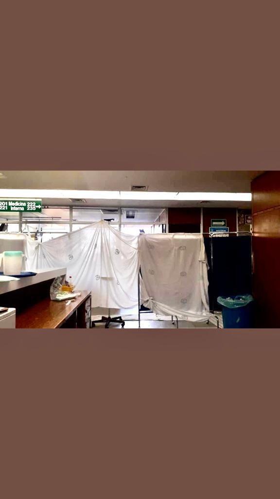 40 CONTAGIADOS ENTRE PERSONAL DE SALUD DE HOSPITAL DE ZONA DEL IMSS 29