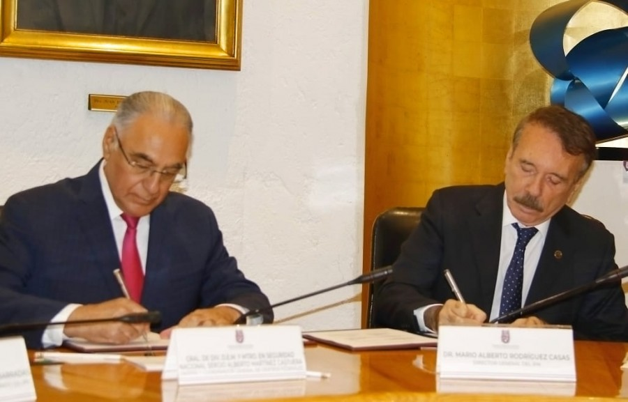 Firma IPN convenio para la prevención del delito