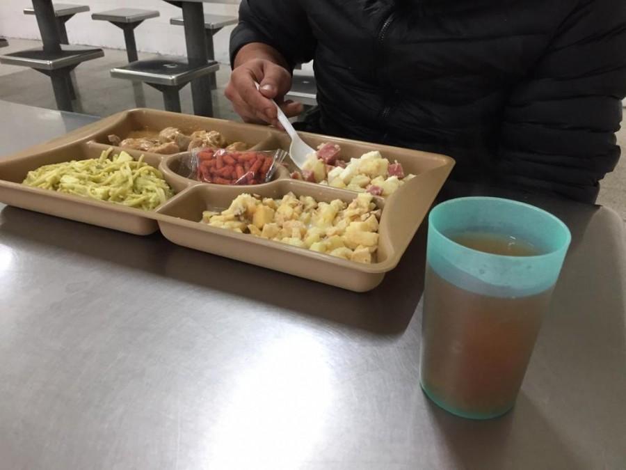 Con cerdo en salsa de manzana recibirán el Año Nuevo en Centros Penitenciarios de la CDMX