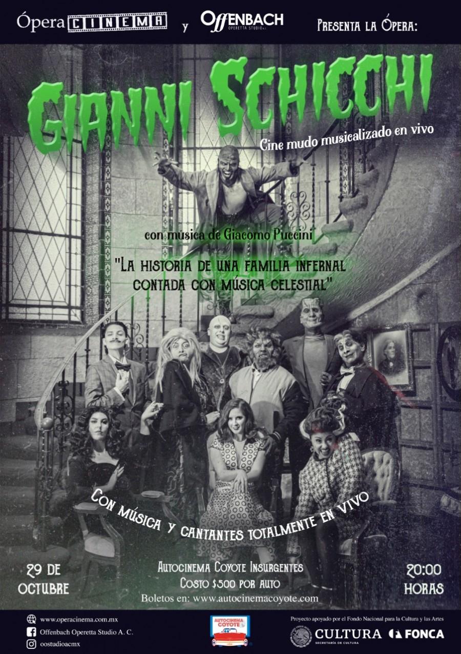 Filme Gianni Schicchi, llegará a las salas este 29 de octubre
