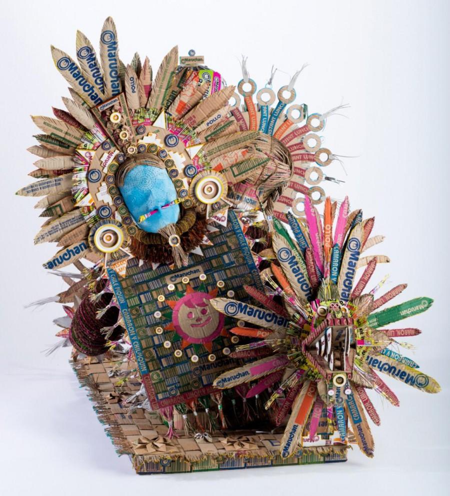 Escultura y collage