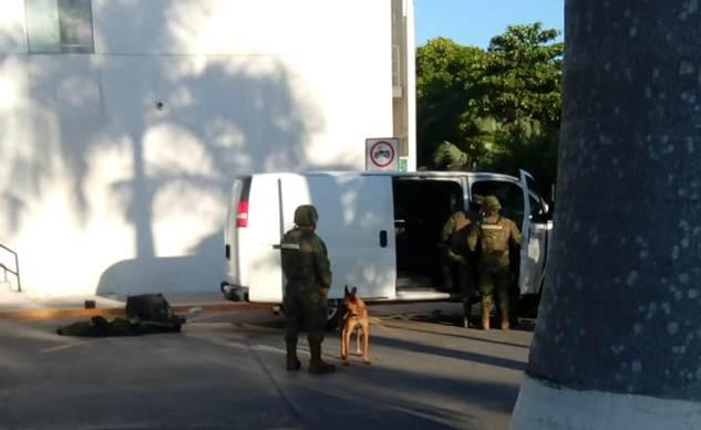 Artefacto explosivo en plaza comercial de Campeche