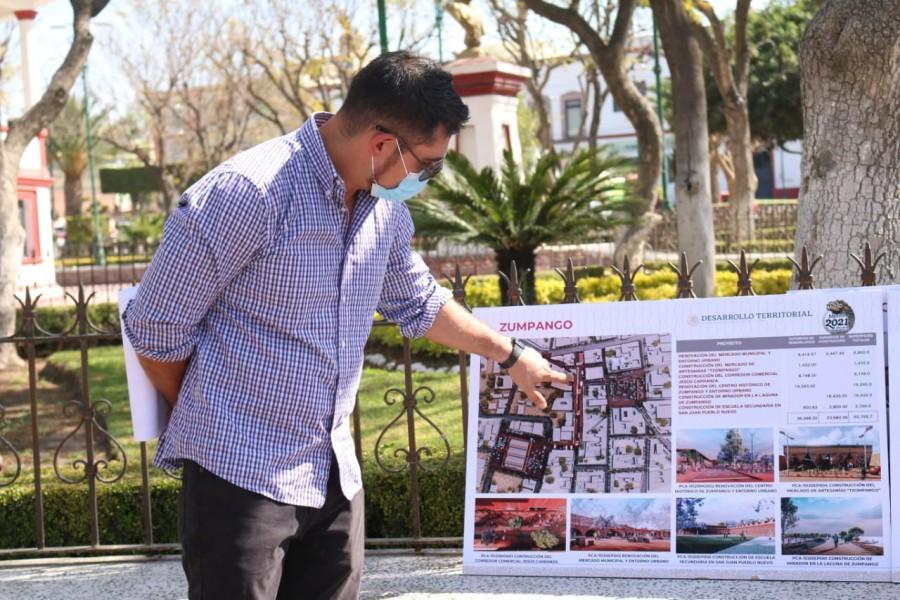 Sedatu inicia Programa de Mejoramiento Urbano en municipios aledaños a Santa Lucía
