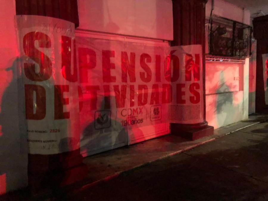INVEA clausura establecimientos en Cuauhtémoc y Benito Juárez