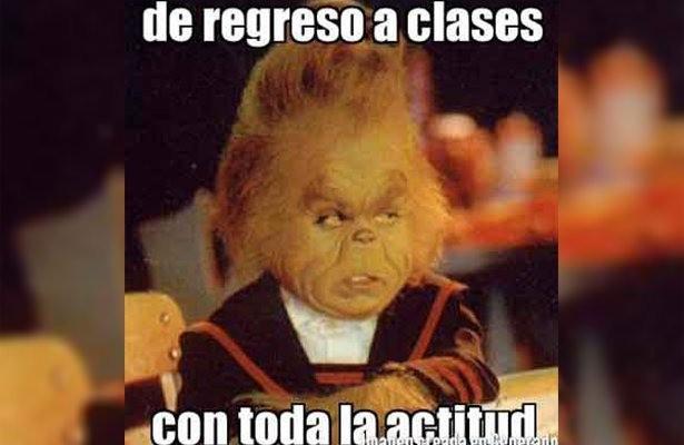 Estudiantes reaccionan con memes ante el regreso a clases presenciales, tras anuncio de la SEP
