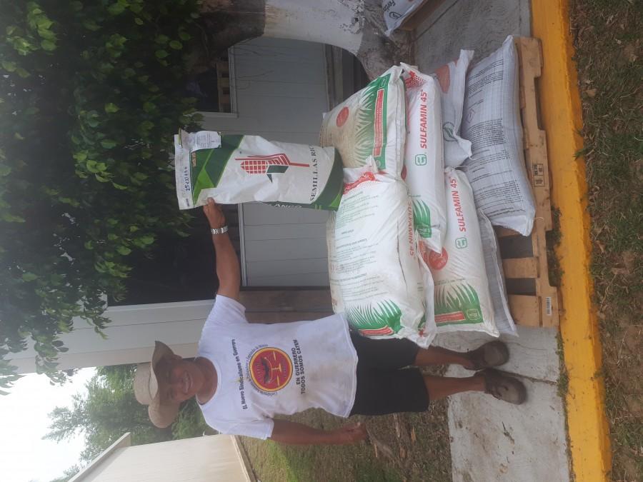 Secretaría de Agricultura inicia entrega fertilizantes