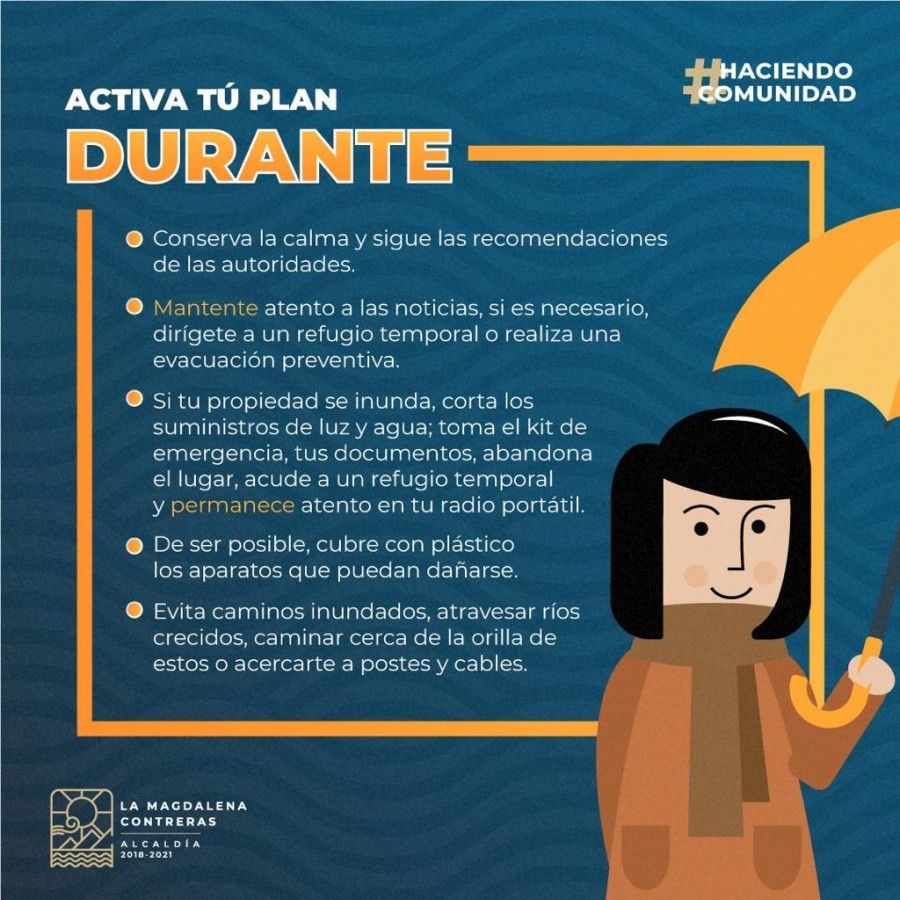 Plan de lluvias