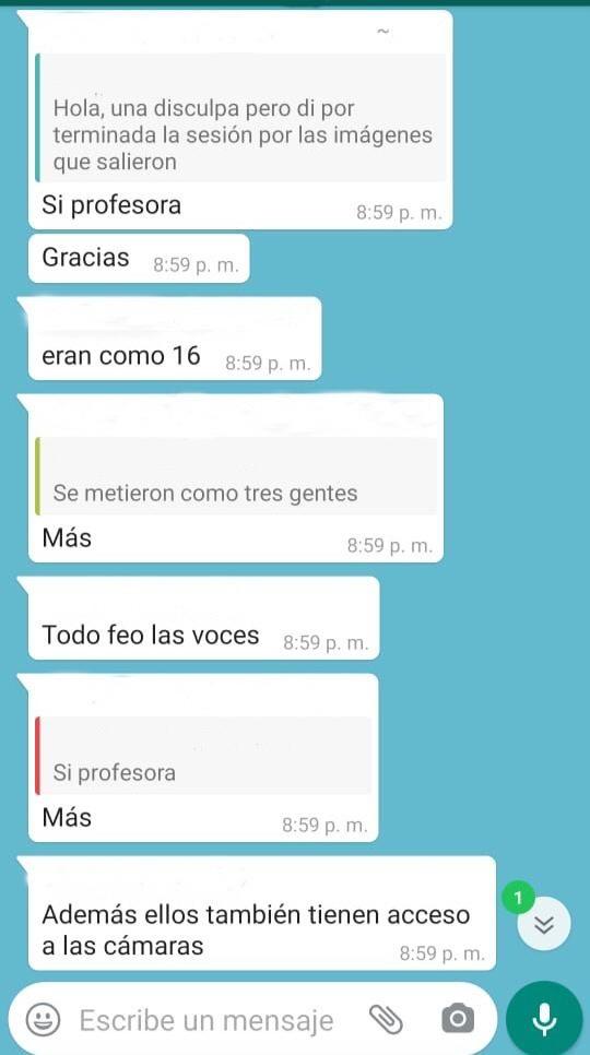 Galeria: Alumnos de la UNAM denuncian hackeo de clases virtuales en Zoom
