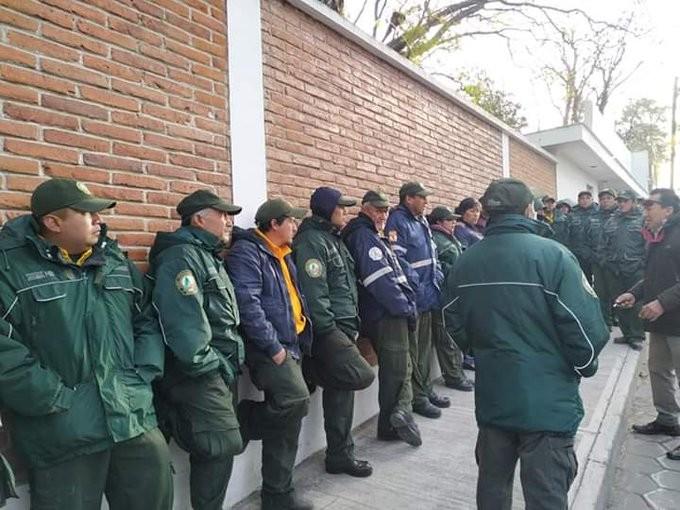 Brigadistas toman la CONAFOR en Chetumal